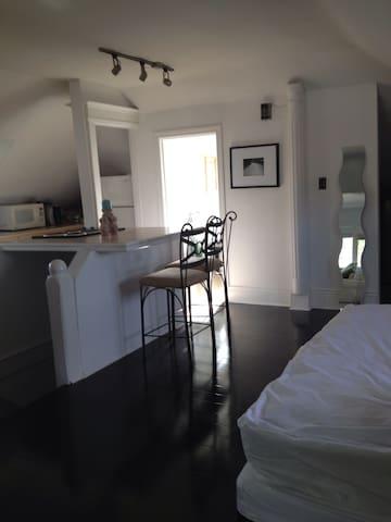 Open Concept, 3rd floor LOFT