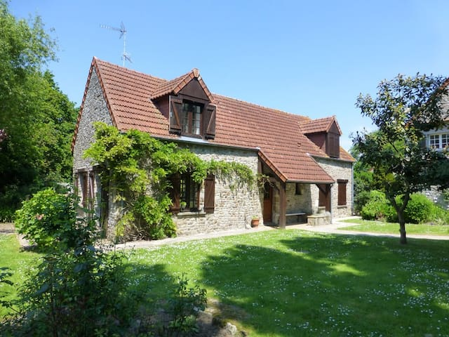 Stable Cottage - Close to beaches - Saint-Nicolas-de-Pierrepont - Huis