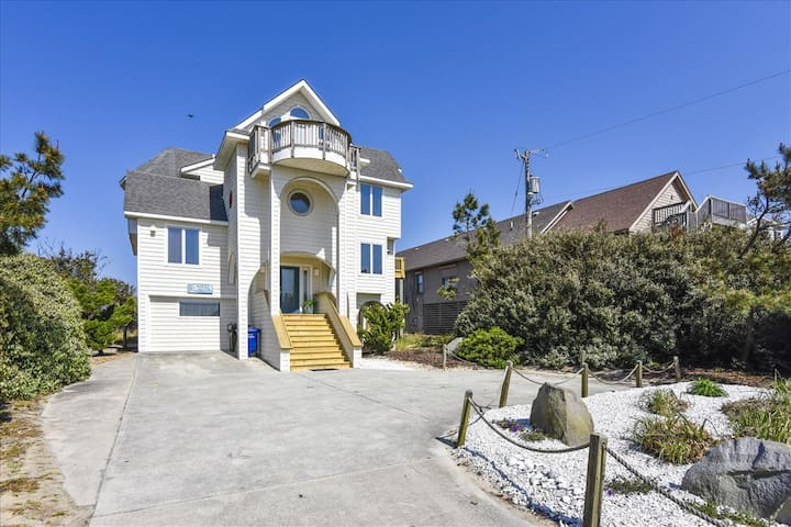 El Sueno -- Beautiful 5 BR OF Home in South Nags Head w/Private Hot Tub & Amazing Views