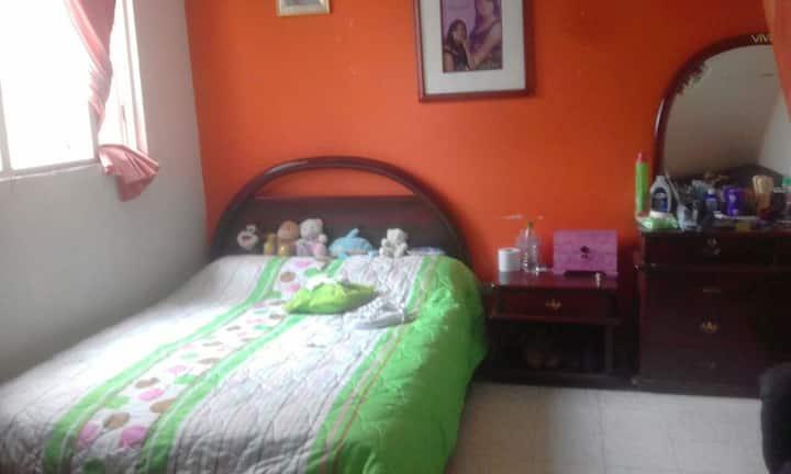 Habitacion acogedora en Bogotá