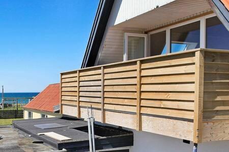 Bellissimo appartamento a Lokken con balcone