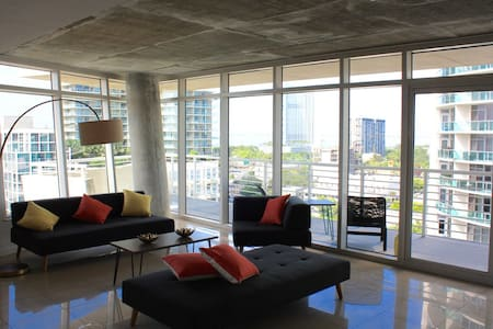 Huge 2bd apt in Midtown Miami