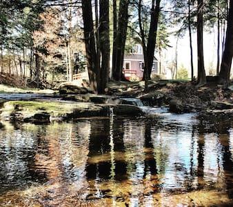 Streamside Storybook Cottage - Margaretville