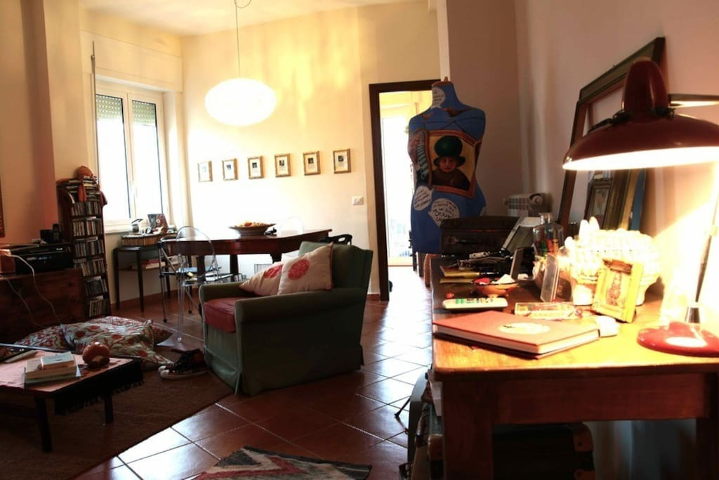 Cosy 70m² flat with terrace in Rome