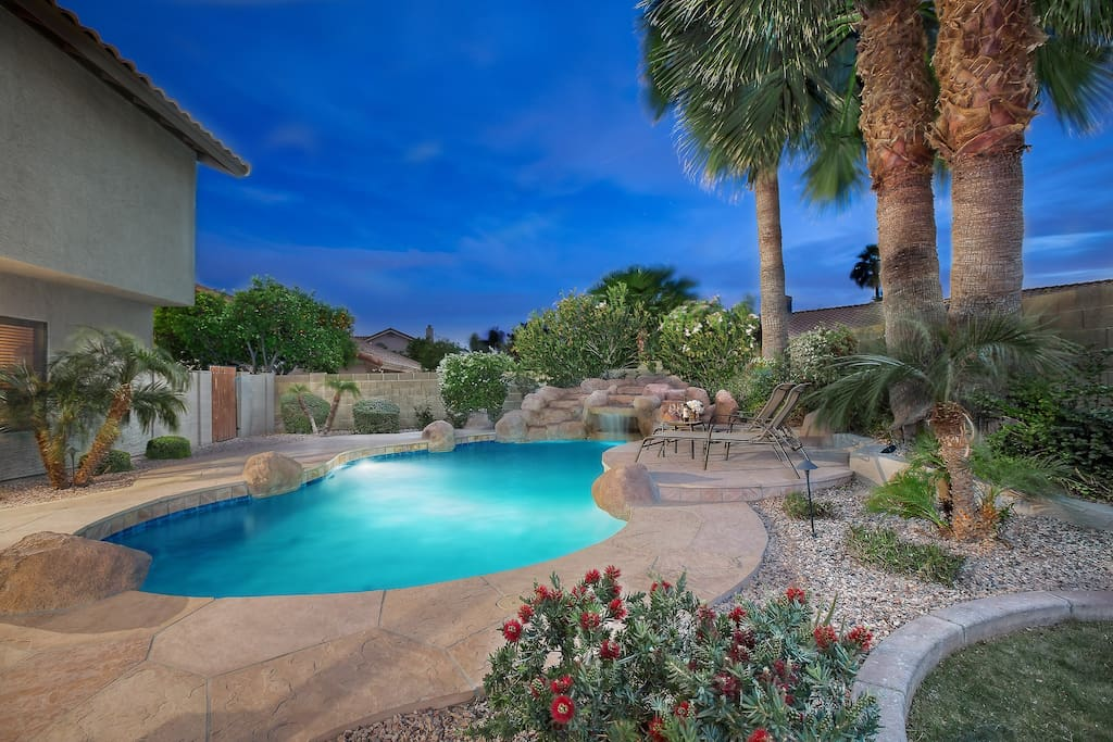 A scottsdale retreat central to major attractions houses for Indoor pool mesa az