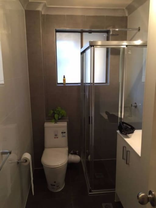 Access to own modern bathroom