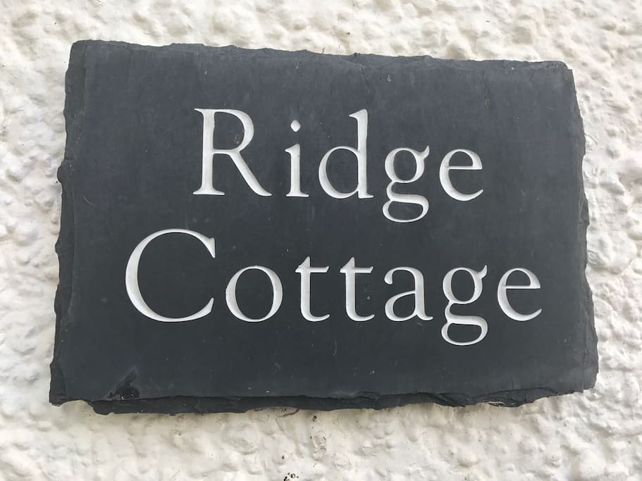 Welcome to Ridge Cottage!