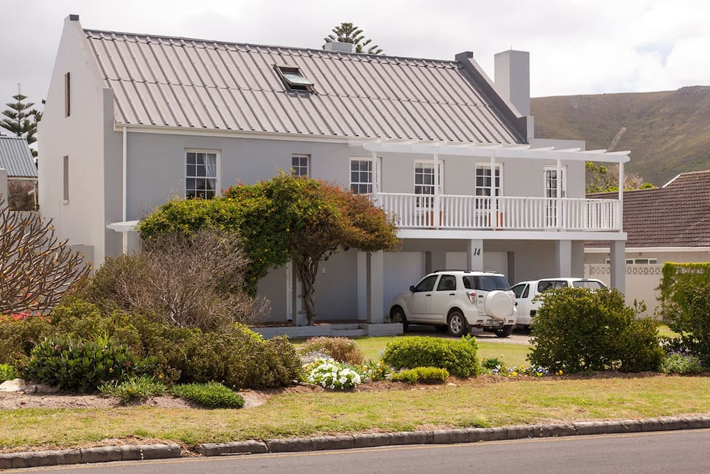 The garden cottage is situated on the ground level of this modern Cape Dutch home, situated close to town and just across the road from the sea and the Cliff Paths. Off-street parking is available.