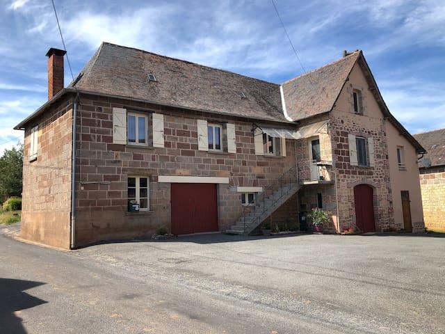 Maison familiale en basse Corrèze