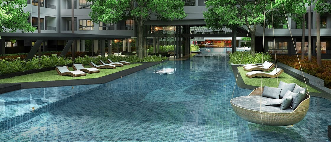 Quiet and luxurious oasis in the heart of Bangkok - Bangkok - Daire