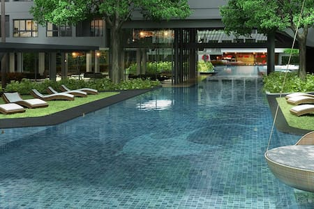 Quiet and luxurious oasis in the heart of Bangkok - Bangkok - Apartamento