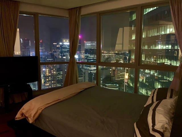 Stunning City Night View