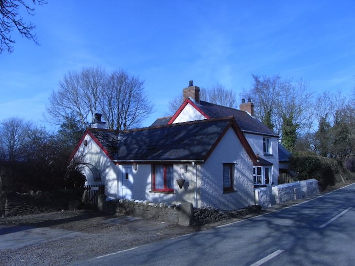 Cottage at foot of Preseli Hills.