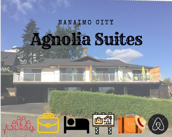 Agnolia Suite 201A suite overlook Departure Bay
