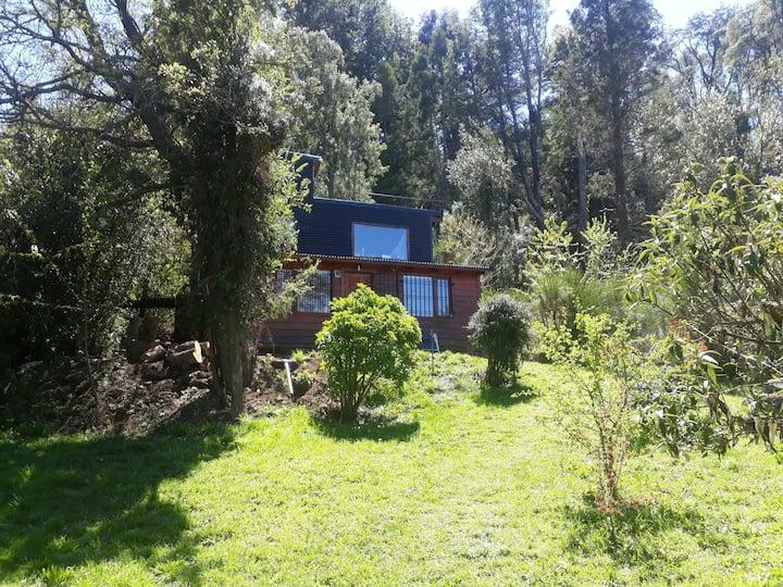Habitación doble auna cuadra del lago Nahuel Huapi