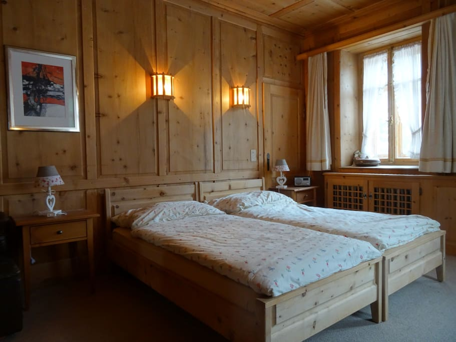 Chasa mirer zernez b b 39 niculin 39 chambres d 39 h tes for Chambre d hote suisse