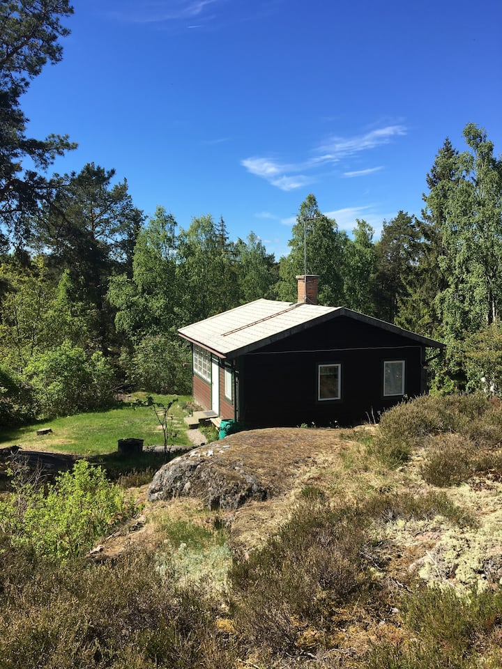 Cozy little house outside of Stockholm