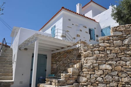 Lovely House with wonderful views in Chora-Samos