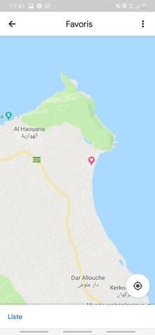 Maison de vacance à  Haouaria plage ( Tunisie )