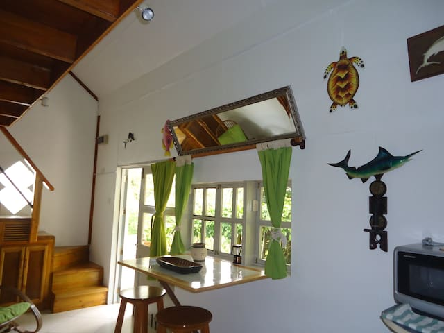 Carambole Apartment at Lemongrass Lodge. - Beau Vallon - Srub
