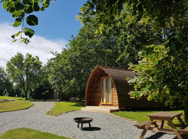 En-suite Wigwam Cabin the perfect glamping holiday