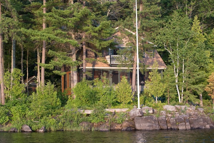 LoonSong Lakefront Luxury Home