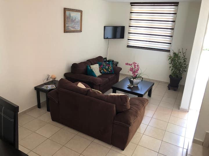 Cómoda Casa de descanso familiar en zona privada
