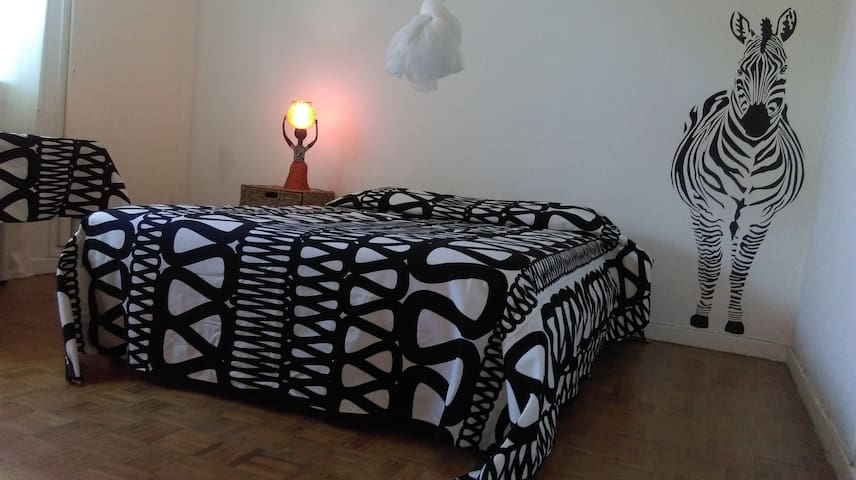 Zebra Room in the heart of Maputo - Maputo - Appartement