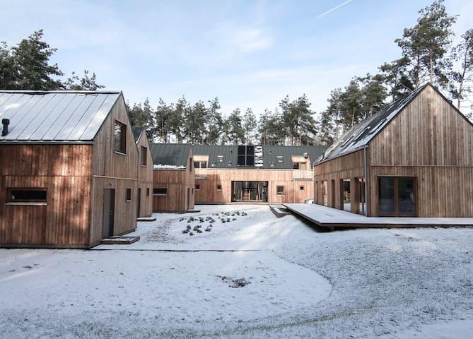 Skandynawski Styl w środku lasu Apartament Lava