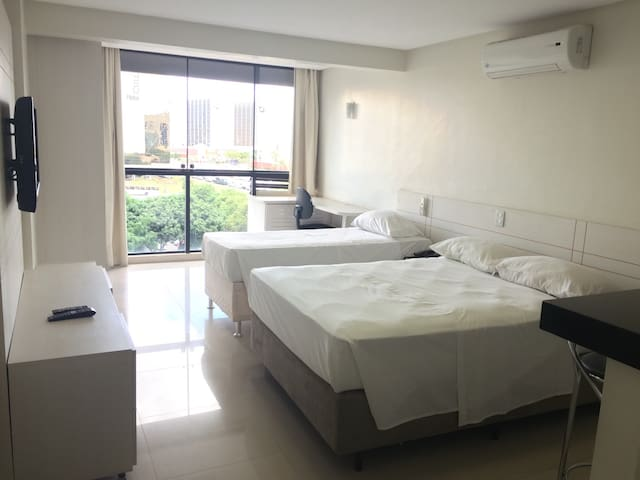 Flat no Garvey Park Hotel - Brasília - Appartement