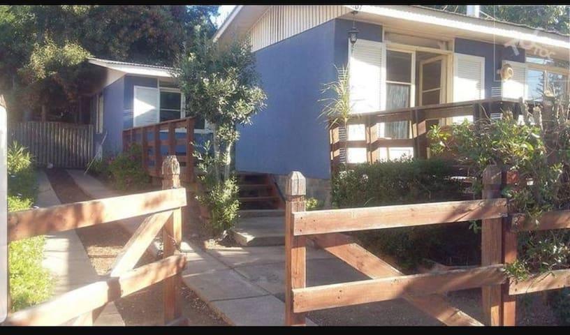Linda casa de veraneo en Papudo para 10 personas