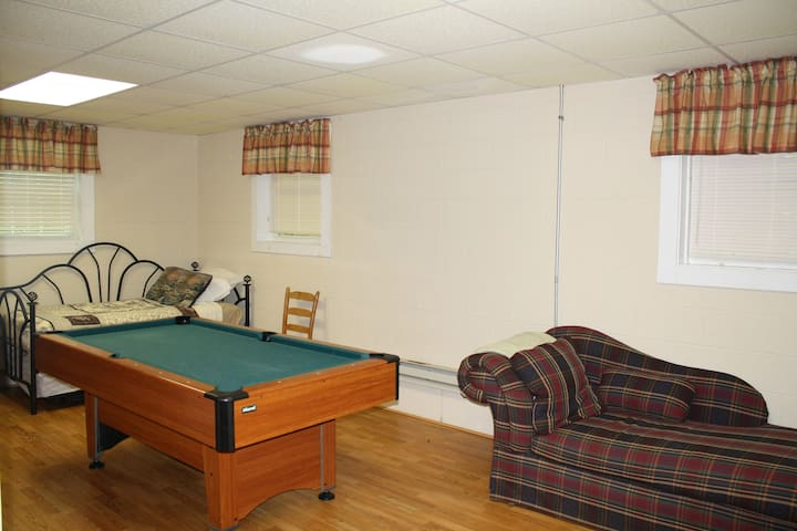 Lower Level/ Game Room