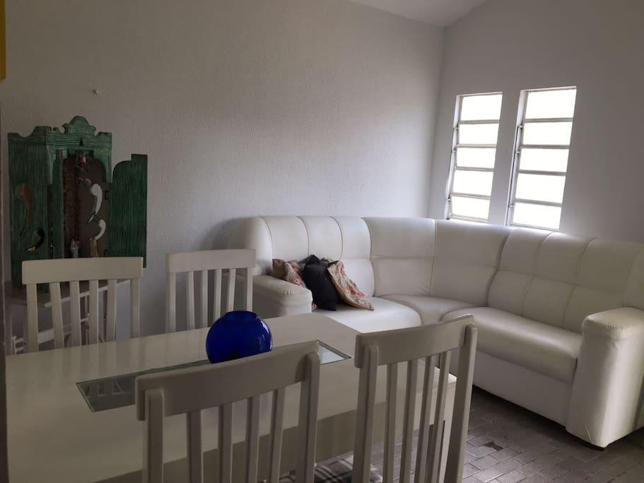Sala de estar + Sala de jantar