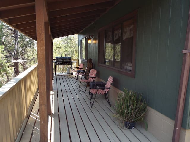 Elk Ridge Lodges: The Green Cabin - Heber-Overgaard - Casa de campo