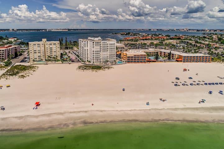 Direct Beachfront 2 bedroom condo