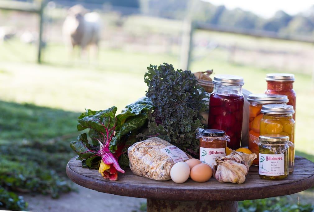 Farm produce- breakfasts plus