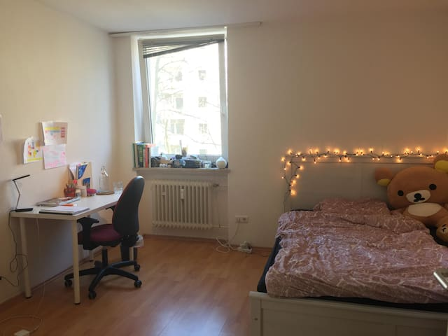 a cosy room close to the Munich city center