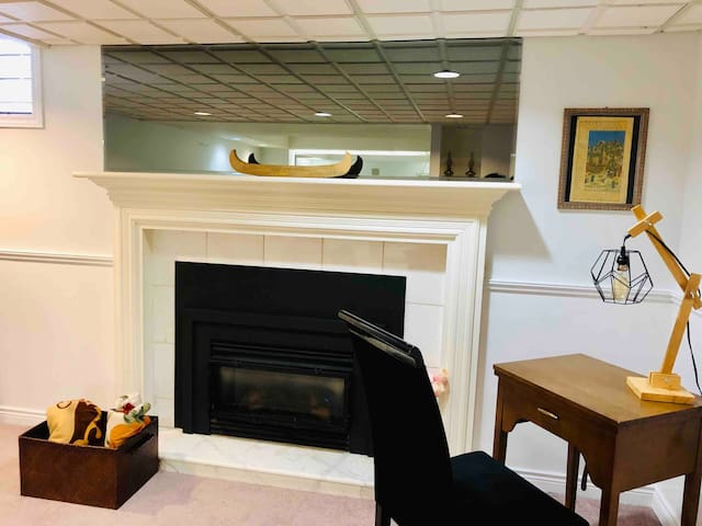 Private basement apartment near Toronto & Airport