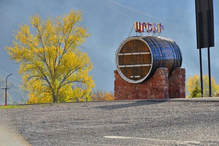 Areni wine cellar
