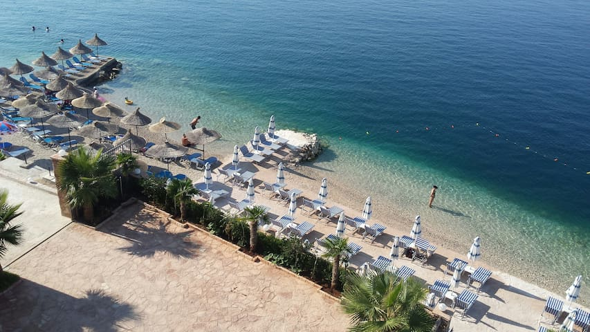 Beach flat, wonderfull sea view - Sarandë - Byt