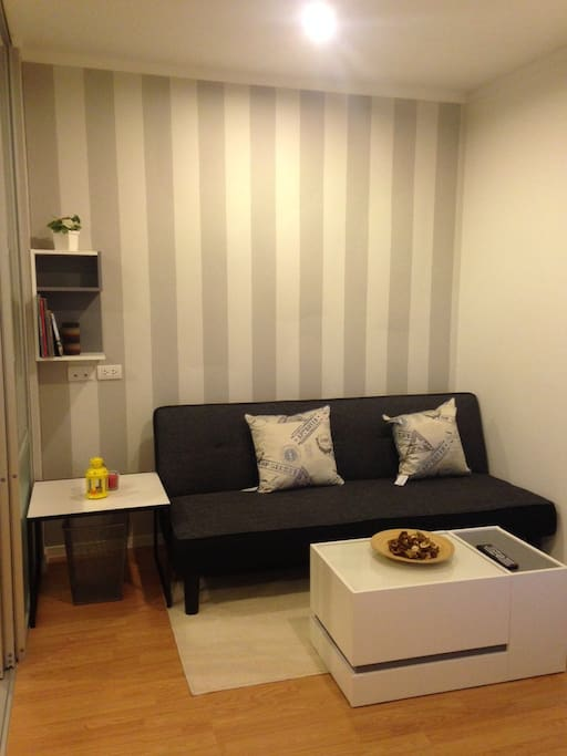 feel confortable with living area zone