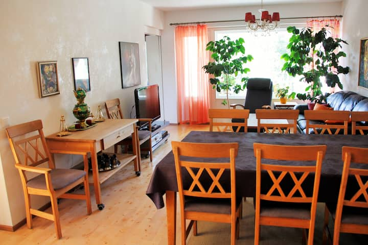 Picturesque 3 room apt in Tapiola