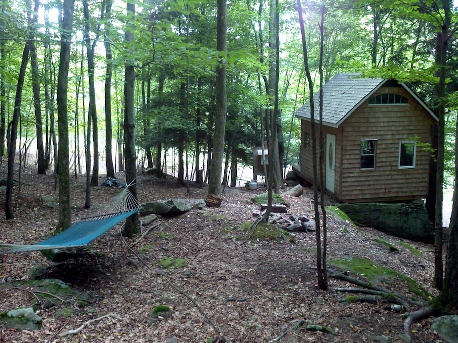 Cottage yard