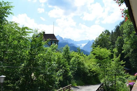 Hütt´l am Bach - Appartement - Garmisch-Partenkirchen - Apartament