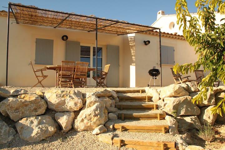 Le Couquiou - Villa Amelonado - Saint-Pierre-de-Vassols - Huvila