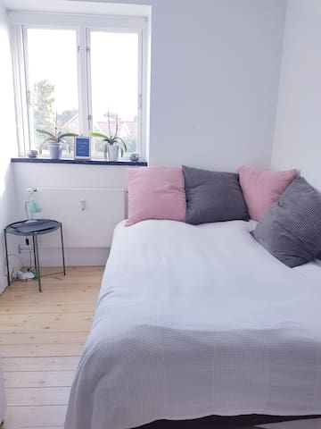 Bright clean room only 20 min from Copenhagen City