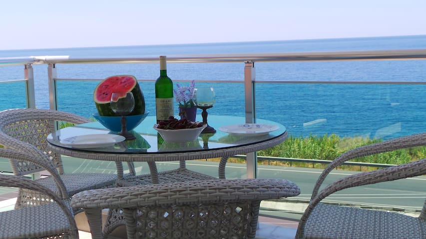 Apartment with a sea view - Alanya/Kargicak - Daire