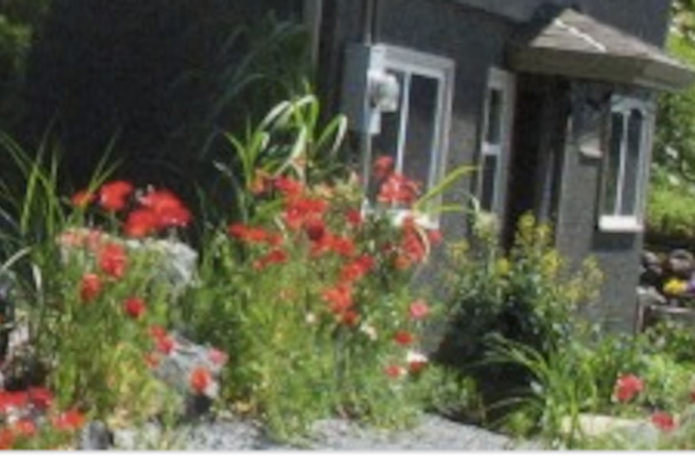 Private garden trail