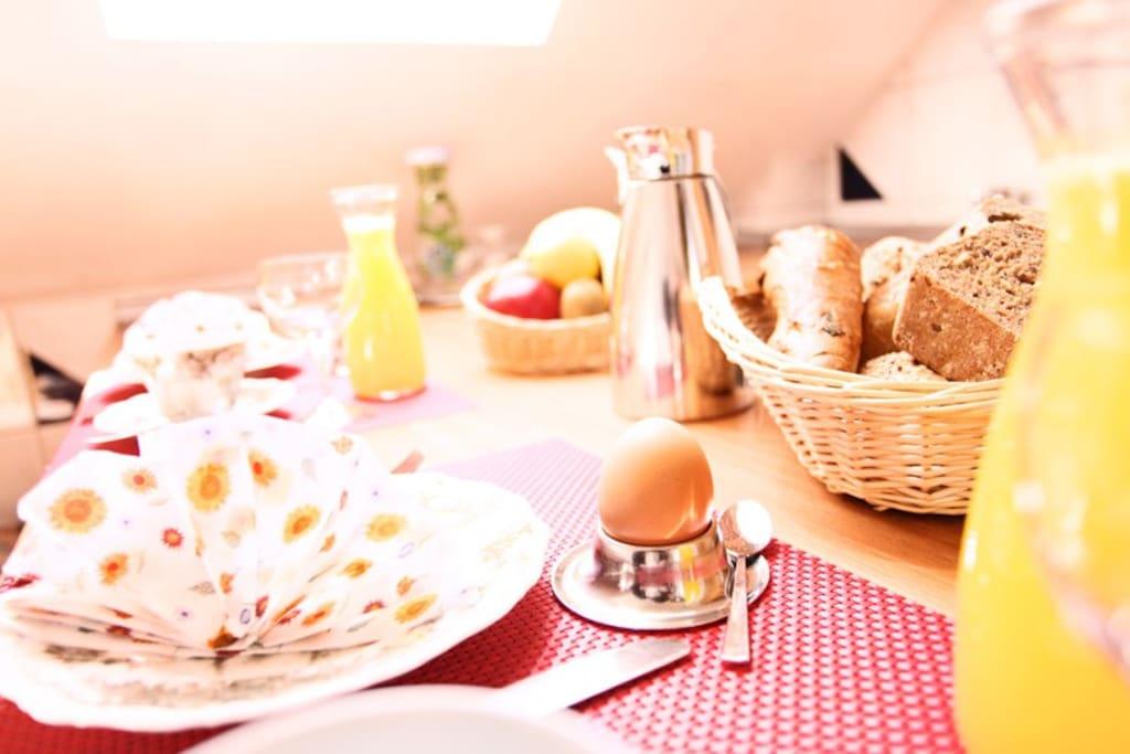 Küche / Frühstück