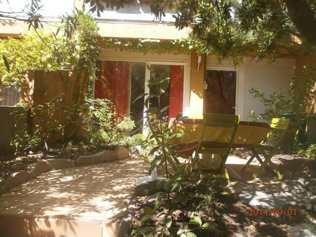 2- pièces avec jardin tout confort - Martigues - Apto. en complejo residencial